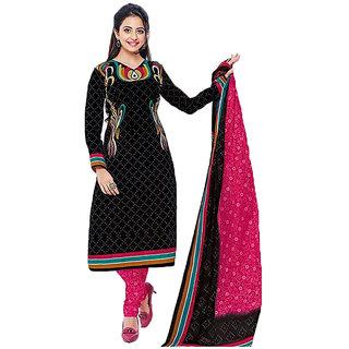 Sudev Multicoloured Cotton Dress Material