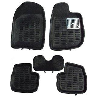 Petrox 3D Foot Mats ( Colour - Black ) For Bolero