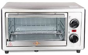 Chef Pro COT510 800 Watts 10 Liters Stainless Steel Oven Toaster Griller.