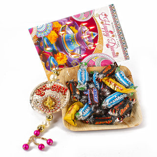 Diwali Assorted Miniatures Chocolates with Shubh Labh Hanging