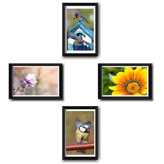 Wall Frame Set of 4 by Natures Beauty