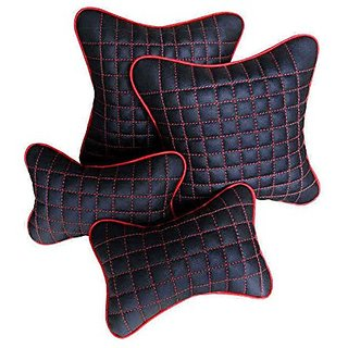 Pegasus Premium Combo of Car Neck Rest And Pillow/Cushion For Toyota Fortuner