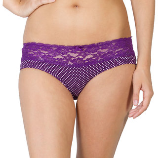 Undercolors Purple Hipsters for Women