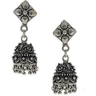 Anuradha Art Try Something Different Look Designer Jhumki Earrings For Women/Girls