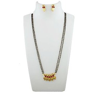 Anuradha Art Presenting This Traditional Styled With Stone & Beads Managalsutra Set For Women