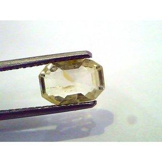 2.24 Ct Unheated Untreated Natural Ceylon Yellow Sapphire/Pukhraj