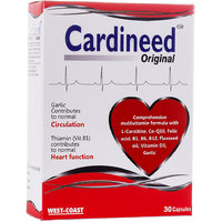 West Coast Cardineed Original  With Vitamin B1(Thiamin ) 30 Capsules.