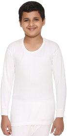 Vimal-Jonney Winter King Blended White Thermal Top For Boys