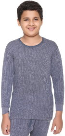 Vimal-Jonney Winter King Blended Navy Thermal Top For Boys