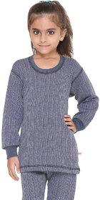 Vimal-Jonney Premium Blended Navy Blue Thermal Top For Girls