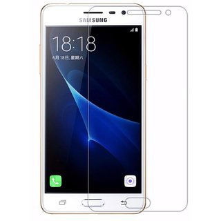 SNOOGG PACK OF 8 Samsung Galaxy J3 Pro Full Body Tempered Glass Screen Protector [ Full Body Edge to Edge ] [ Anti Scratch ] [ 2.5D Round Edge] [HD View]  White