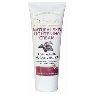 Dr Batras Natural Skin Lightening Cream 100gm