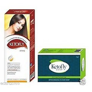 3 ketofly soap with 2 ketofly shampoo