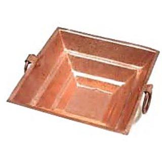 Pure Copper Hawan kund Hindu Yagya Pooja 14.514.54.5 CM