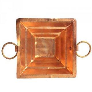 Pure Copper Hawan kund Hindu Yagya Pooja 18188 CM