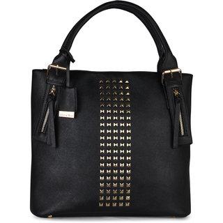 Diana Korr Black Shoulder Bag DK98HBLK