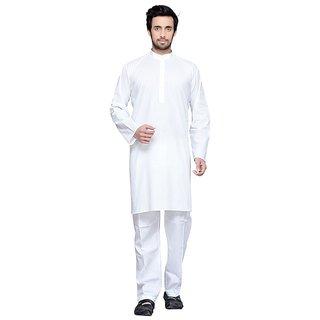 Yuvraj Plain Cotton Kurta Suit