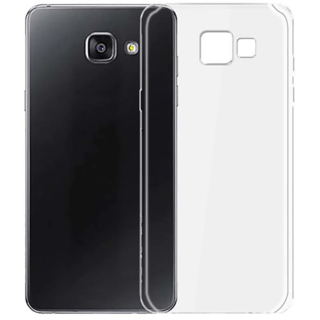 Samsung Galaxy A7 (2016) Transparent Crystal Clear Back Cover by Profusse