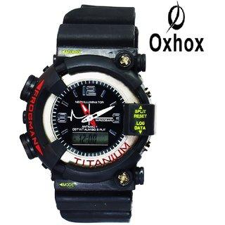 Oxhox Analog Digital G-shock 510 Analog-Digital Watch - For Men
