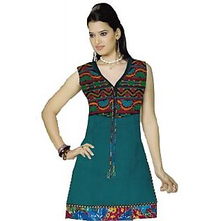 1321 Party Wear Embroidered Attached Jacket Kurti