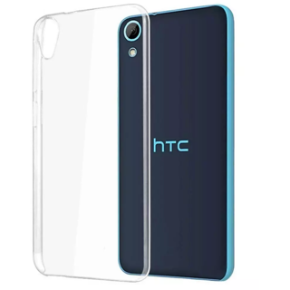 HTC Desire 626 Transparent Crystal Clear Back Cover by Profusse