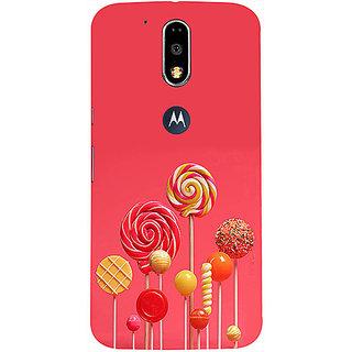 Casotec Lollipop Design 3D Printed Hard Back Case Cover for Motorola Moto G4 Plus