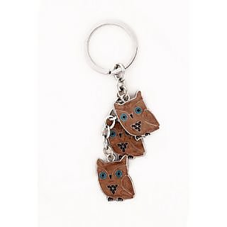 Cunning owl keychain By Daffodils ( Pack Of 2 )