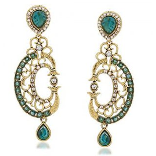 VK Jewels Wonderful Gold Plated Alloy Drop Earring set for Women & Girls -ERZ1310G [VKERZ1310G]