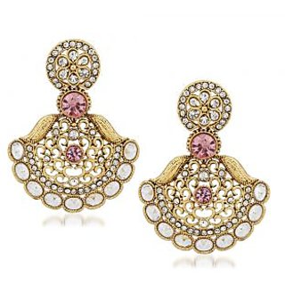 VK Jewels Radiant Gold Plated Alloy Drop Earring set for Women & Girls -ERZ1311G [VKERZ1311G]