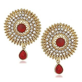 VK Jewels New Design Gold Plated Alloy Drop Earring set for Women & Girls -ERZ1333G [VKERZ1333G]