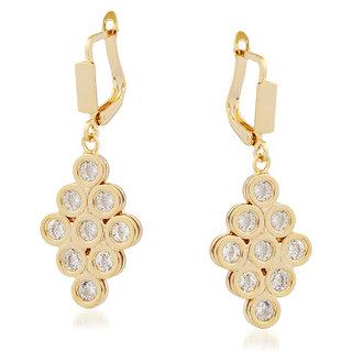 VK Jewels Decent Design Gold Plated Alloy Drop Earring set for Women & Girls -ERZ1347G [VKERZ1347G]