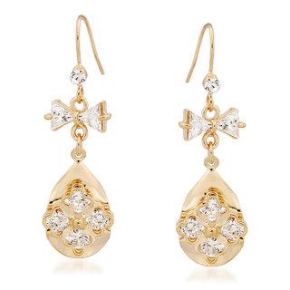 VK Jewels New Design Gold Plated Alloy Drop Earring set for Women & Girls -ERZ1357G [VKERZ1357G]