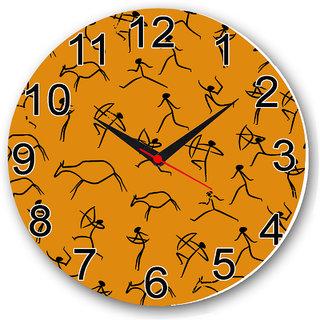 Czds India Ethnic Wall Clock