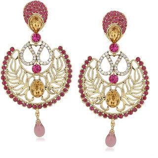 VK Jewels New Arrival Gold Plated Alloy Drop Earring set for Women & Girls -ERZ1396G [VKERZ1396G]