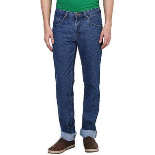 British Cross Blue Regular Fit Jeans for Men