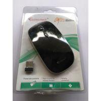 Wireless Mouse For Laptop Desktop Notebook  Tablet By Techno Tech Company Black Color