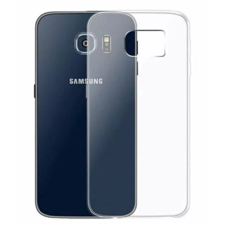 Samsung Galaxy S6 Edge Transparent Crystal Clear Back Cover by Profusse