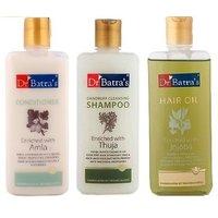 Dr Batra's Hair Care Kit (Hair Oil + Shampoo + Conditioner Each 200ml)