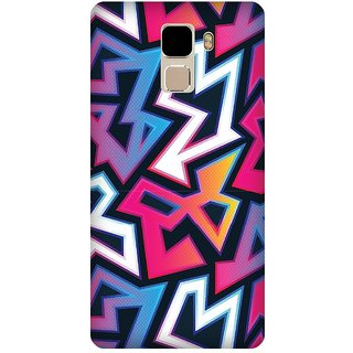 Super Cases Premium Designer Printed Case for Huawei Honor 7