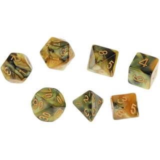 Magideal  Set of 7 Multi Sided Dice Dungeons D&D RPG Games #1