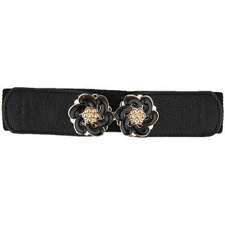 Snoby black  Free size belt