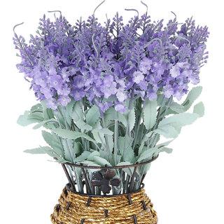 Artificial Provence Lavender Flower Bouquet Home Party Decoration