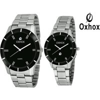 Oxhox Analog Couple M31 Diva Analog Watch - For Couple