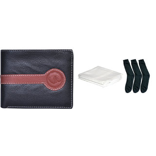 Vagan-Kate Black Formal Regular Wallet
