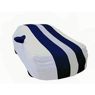 Auto Need Genuine Quality Blue Arc Car Cover For Mahindra Verito Vibe CS