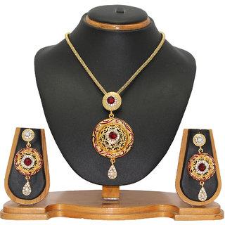 Soni Art Jewellery Classy Designer Jewellery Pendant Set 0110