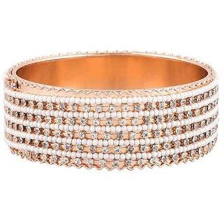 Pchalk Glod Plated American Diamond Bracelet