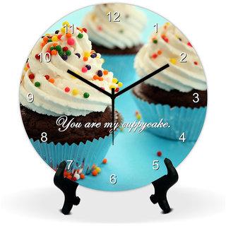 Giftcart Cuppycake Wall Clock