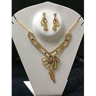 Gold Plated Fashion Crystal Jewelry Sets