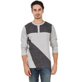 Aurelio Marco Stylish Millange Grindel Henley Men T Shirt
